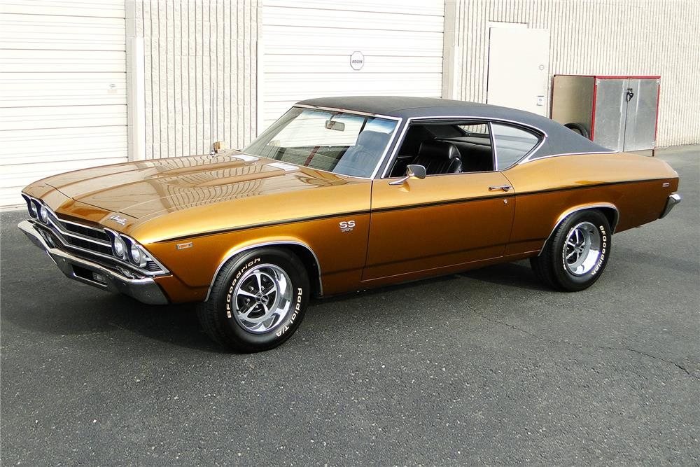 1969 CHEVROLET CHEVELLE - Side Profile - 187484