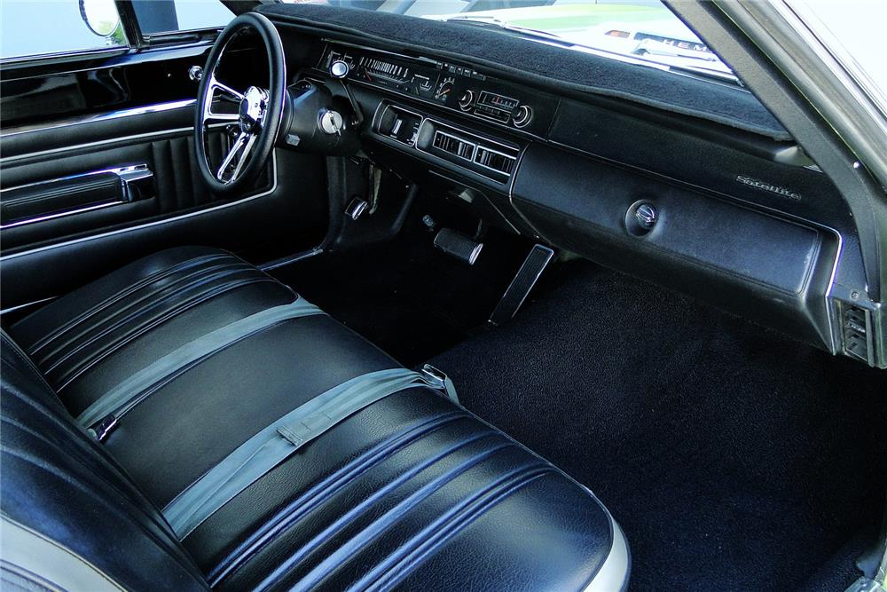 1970 PLYMOUTH GTX CUSTOM HARDTOP - Interior - 187486