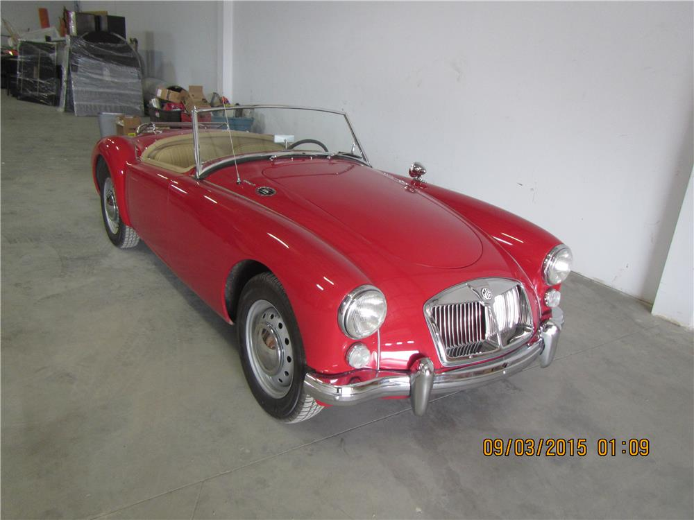 1961 MG A 1600 MARK I ROADSTER - Front 3/4 - 187492