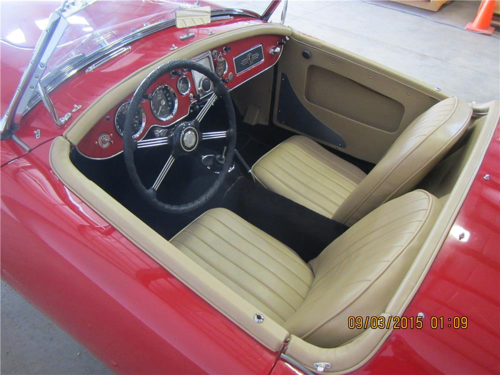 1961 MG A 1600 MARK I ROADSTER - Interior - 187492
