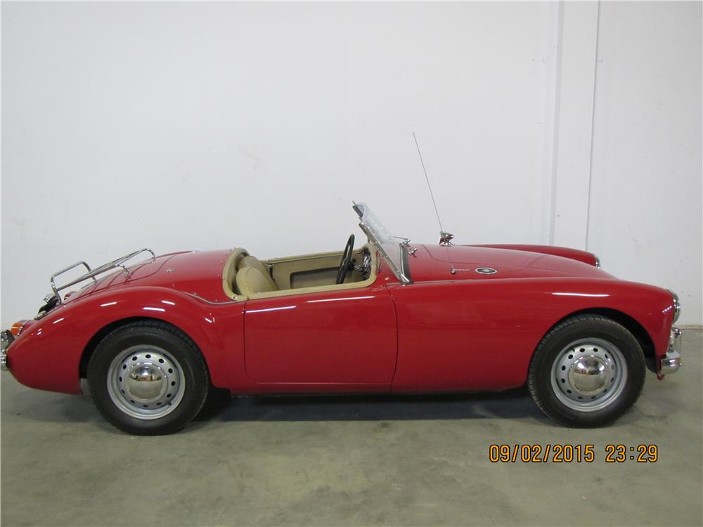 1961 MG A 1600 MARK I ROADSTER - Side Profile - 187492