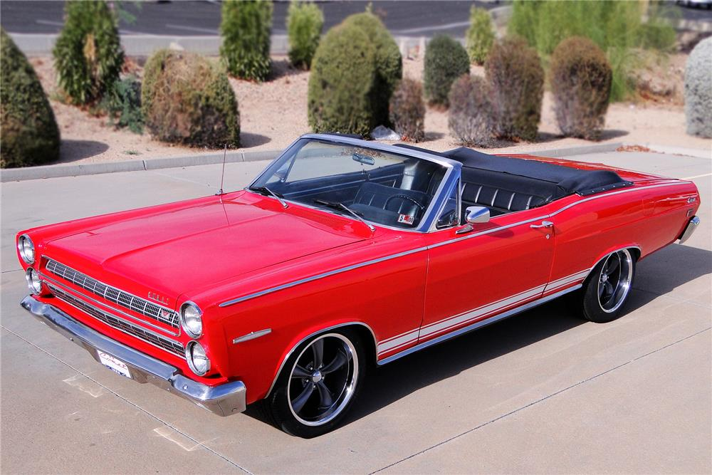 1966 MERCURY CALIENTE CUSTOM CONVERTIBLE - Front 3/4 - 187494