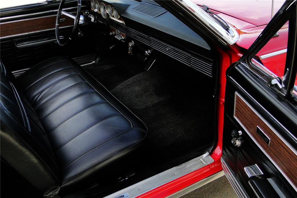 1966 MERCURY CALIENTE CUSTOM CONVERTIBLE - Interior - 187494