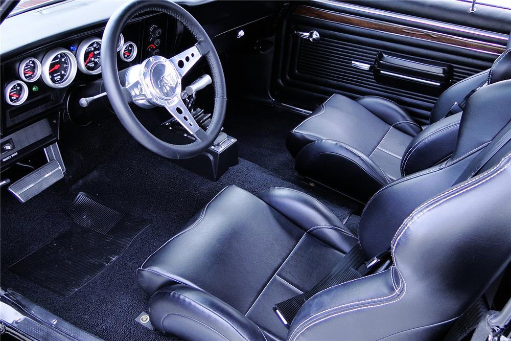 1972 CHEVROLET NOVA CUSTOM - Interior - 187499