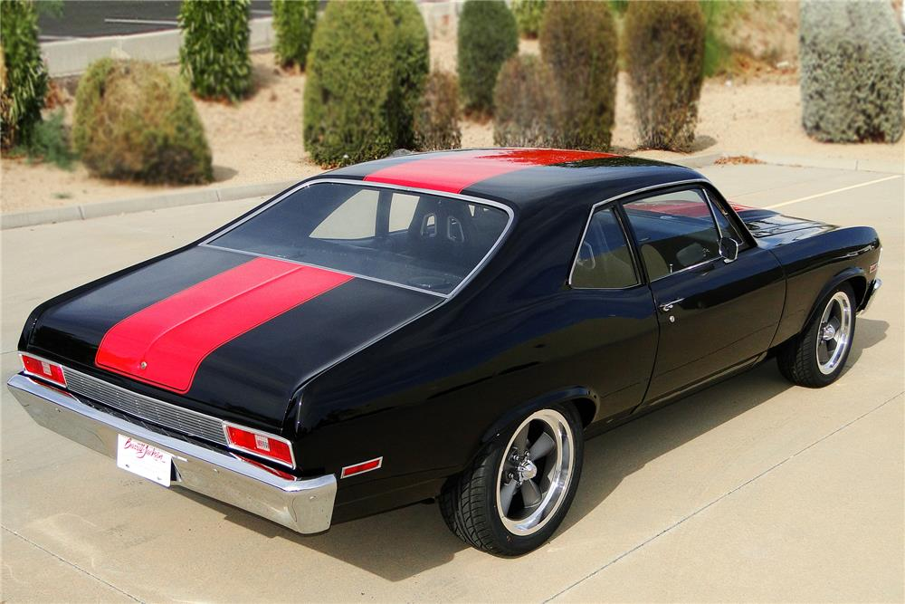 1972 CHEVROLET NOVA CUSTOM - Rear 3/4 - 187499