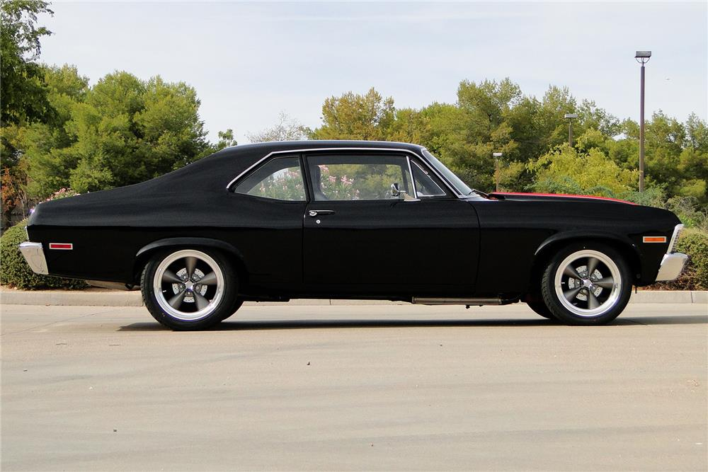1972 CHEVROLET NOVA CUSTOM - Side Profile - 187499