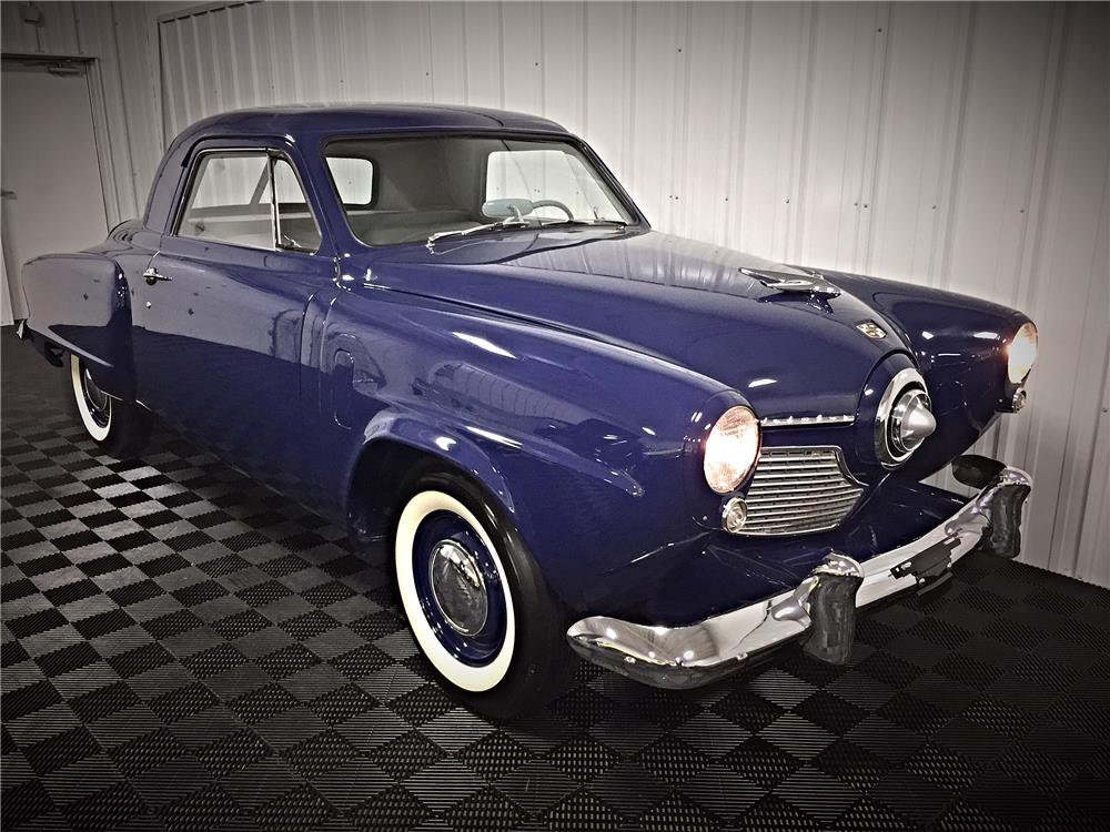 1951 STUDEBAKER CHAMPION BUSINESS COUPE - Front 3/4 - 187510