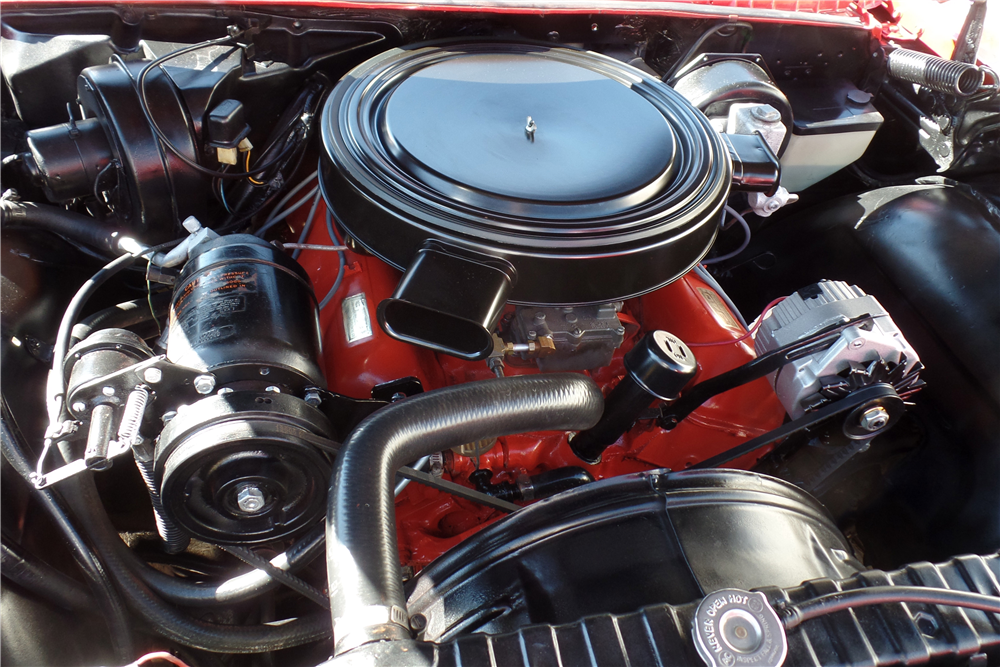 1960 CHEVROLET IMPALA HARDTOP - Engine - 187527