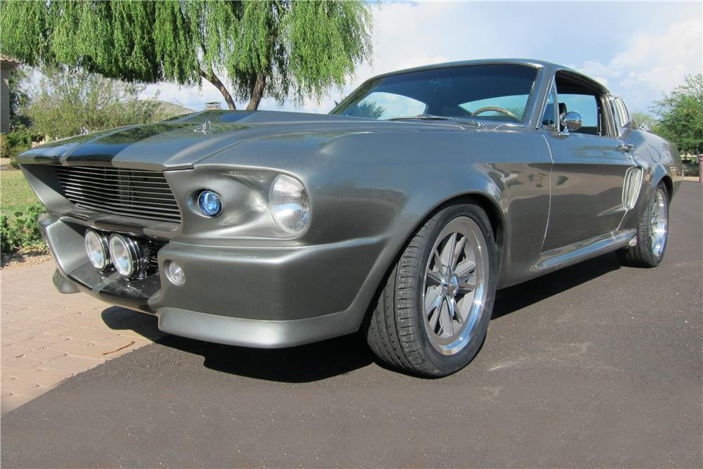 1967 FORD MUSTANG CUSTOM FASTBACK - Front 3/4 - 187579