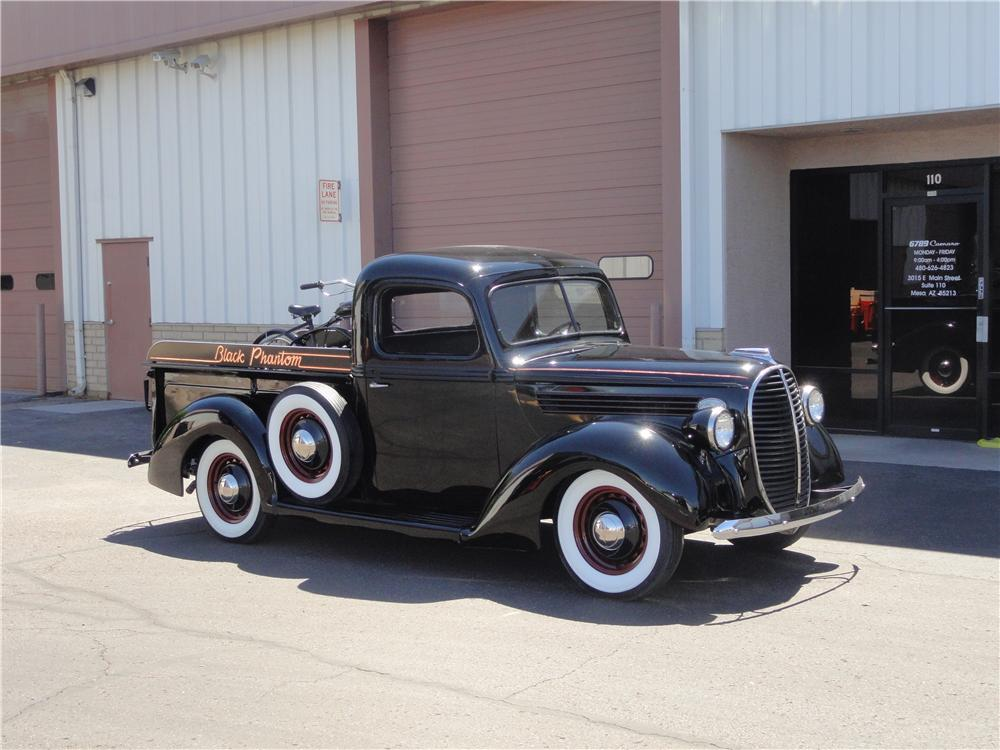 1938 FORD F-1 PICKUP - Front 3/4 - 187581
