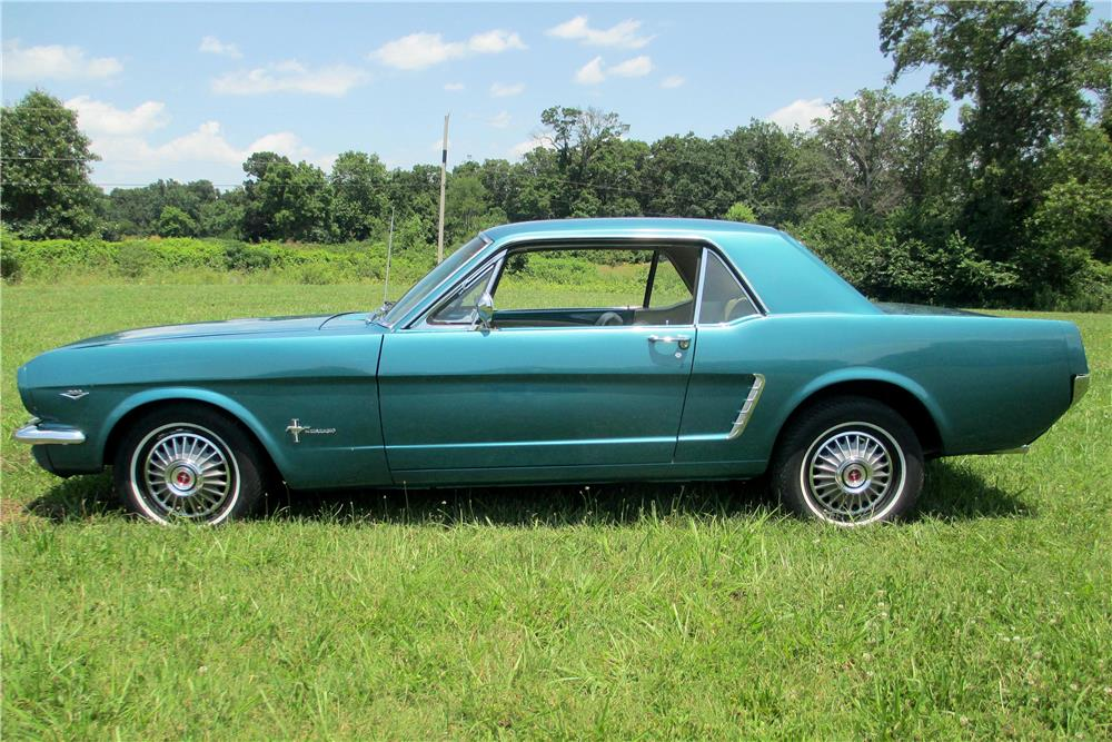 1965 FORD MUSTANG  - Side Profile - 187585