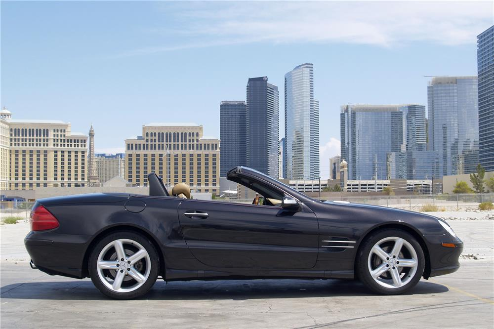 2005 MERCEDES-BENZ SL500 CONVERTIBLE - Side Profile - 187696