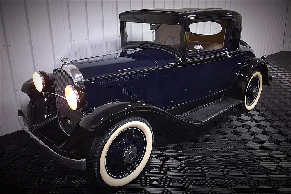 1931 PLYMOUTH MODEL PA - Front 3/4 - 187700