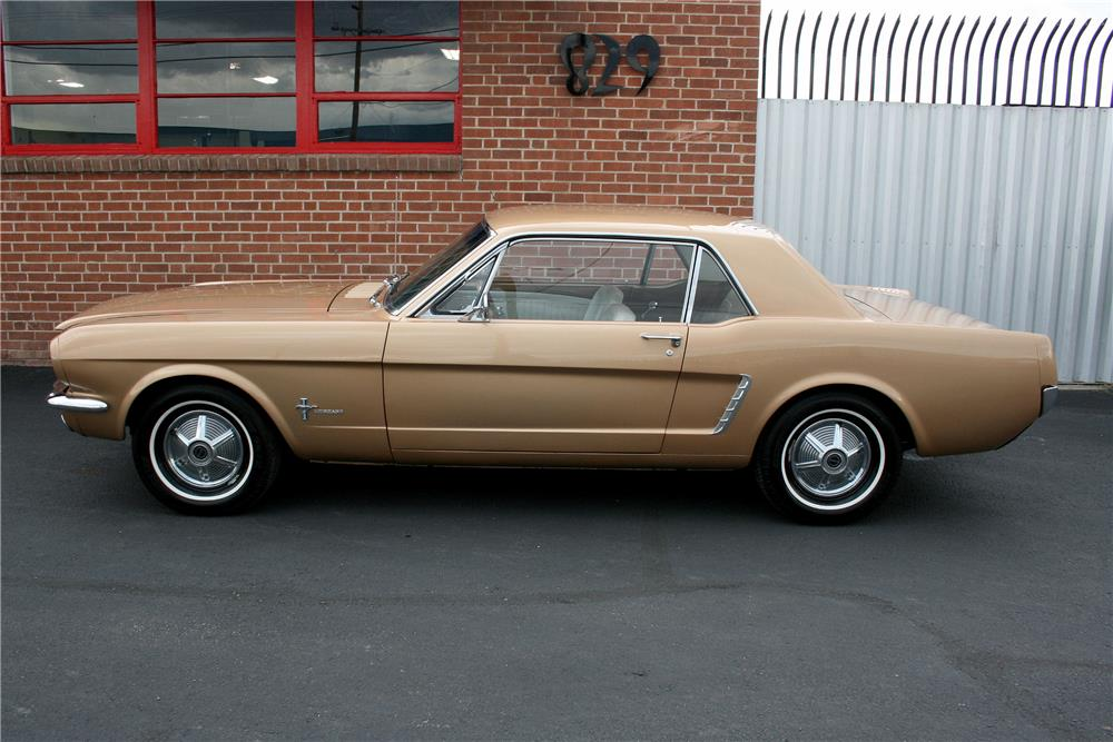 1965 FORD MUSTANG - Side Profile - 187705