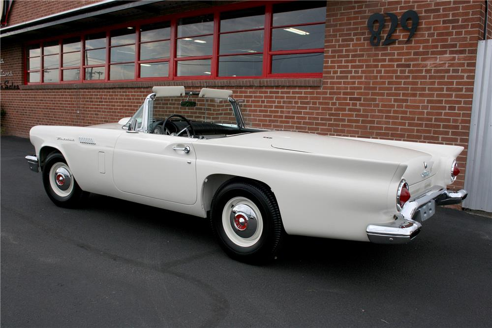 "1957 FORD THUNDERBIRD ""F"" CONVERTIBLE - Engine - 187715"