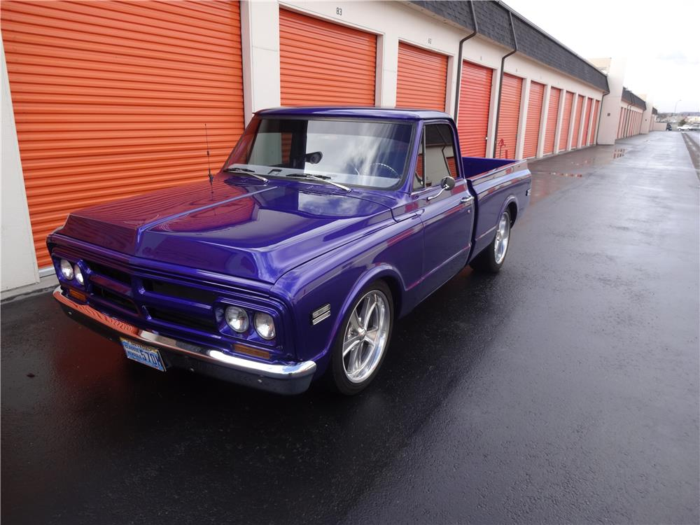 1970 GMC 1/2 TON CUSTOM PICKUP - Front 3/4 - 187718