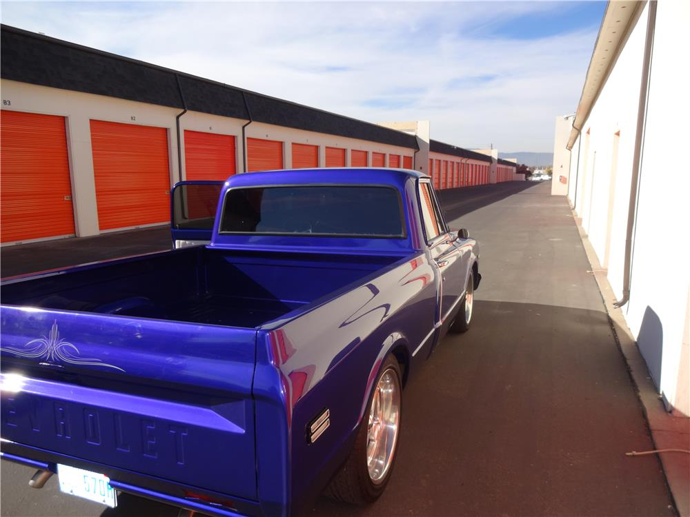 1970 GMC 1/2 TON CUSTOM PICKUP - Rear 3/4 - 187718