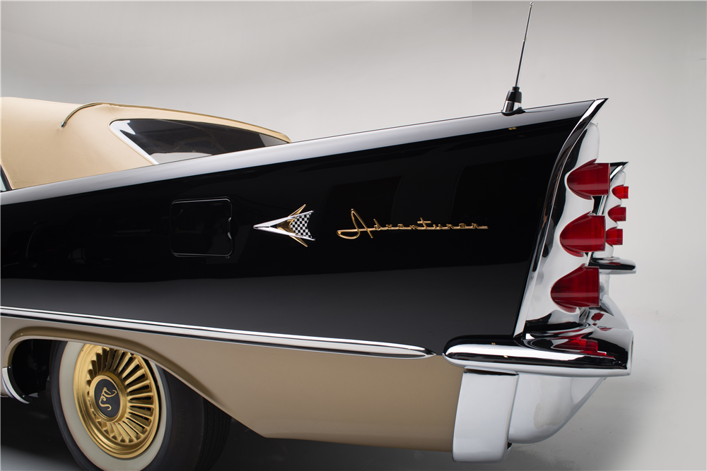 1957 DESOTO ADVENTURER CONVERTIBLE - Rear 3/4 - 187813