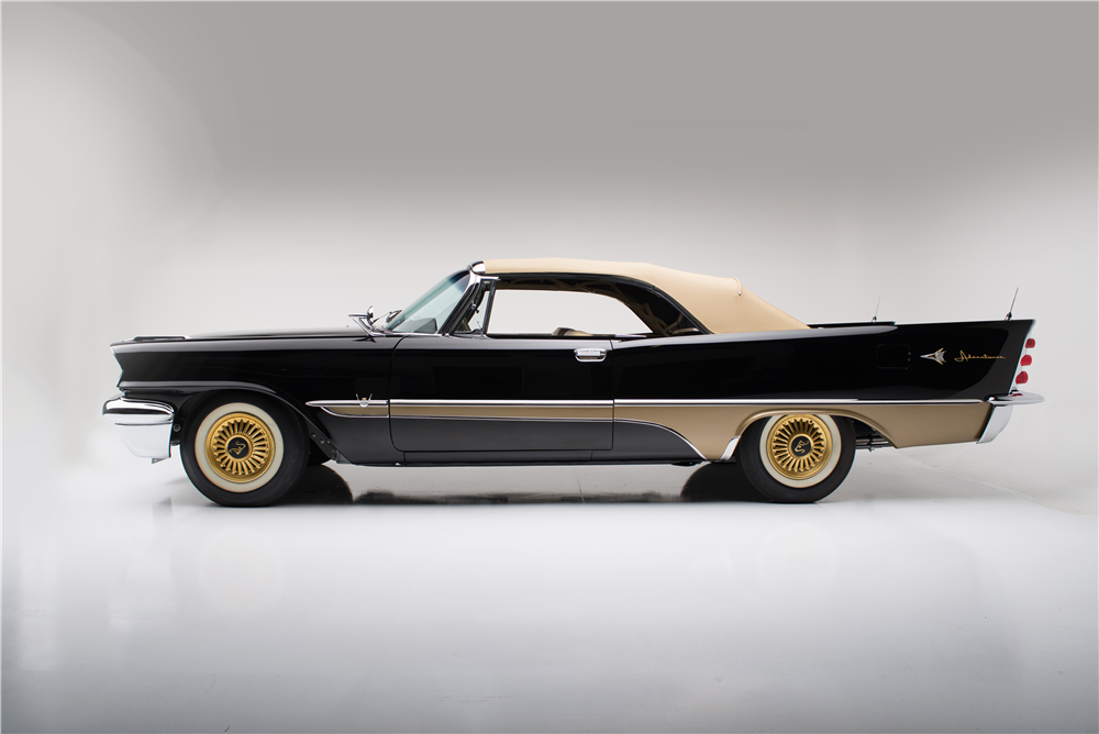 1957 DESOTO ADVENTURER CONVERTIBLE - Side Profile - 187813