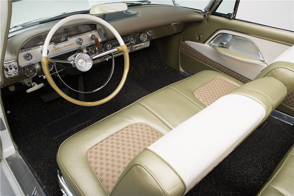 1958 DESOTO ADVENTURER CONVERTIBLE - Interior - 187818