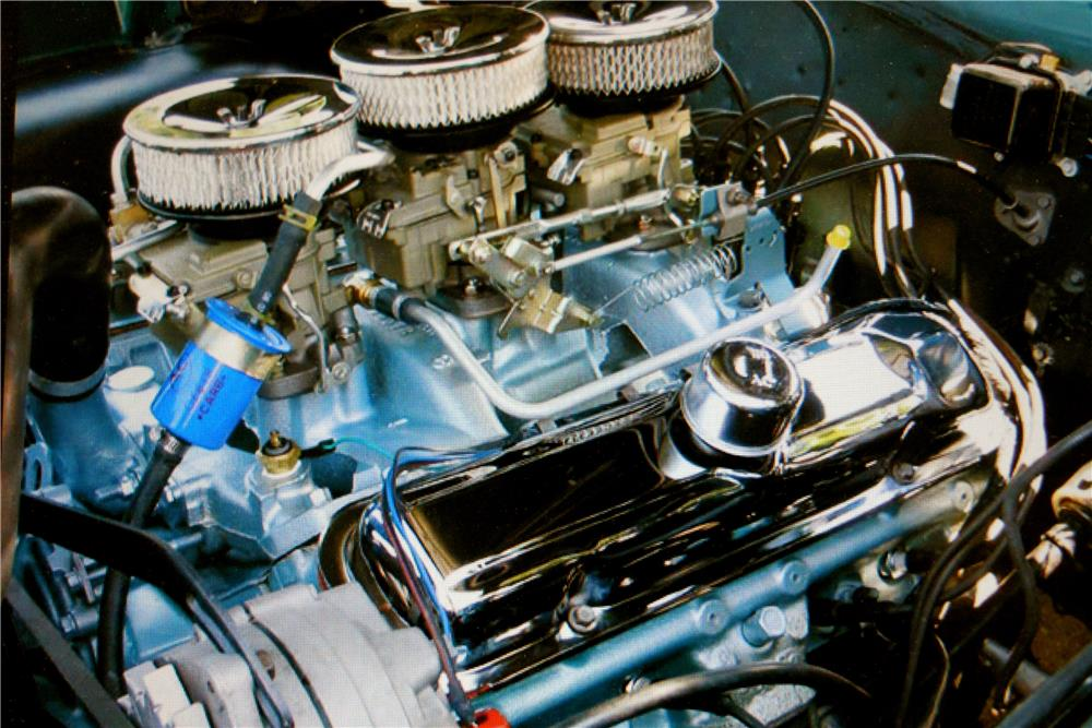 1966 PONTIAC GTO CONVERTIBLE - Engine - 187902