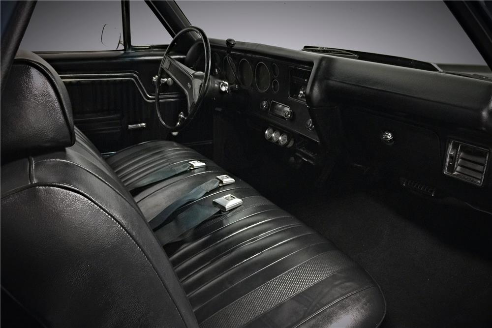 1970 CHEVROLET EL CAMINO PICKUP - Interior - 187916