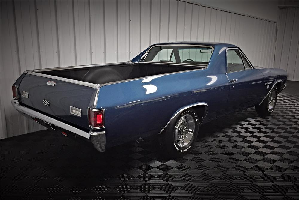 1970 CHEVROLET EL CAMINO PICKUP - Rear 3/4 - 187916