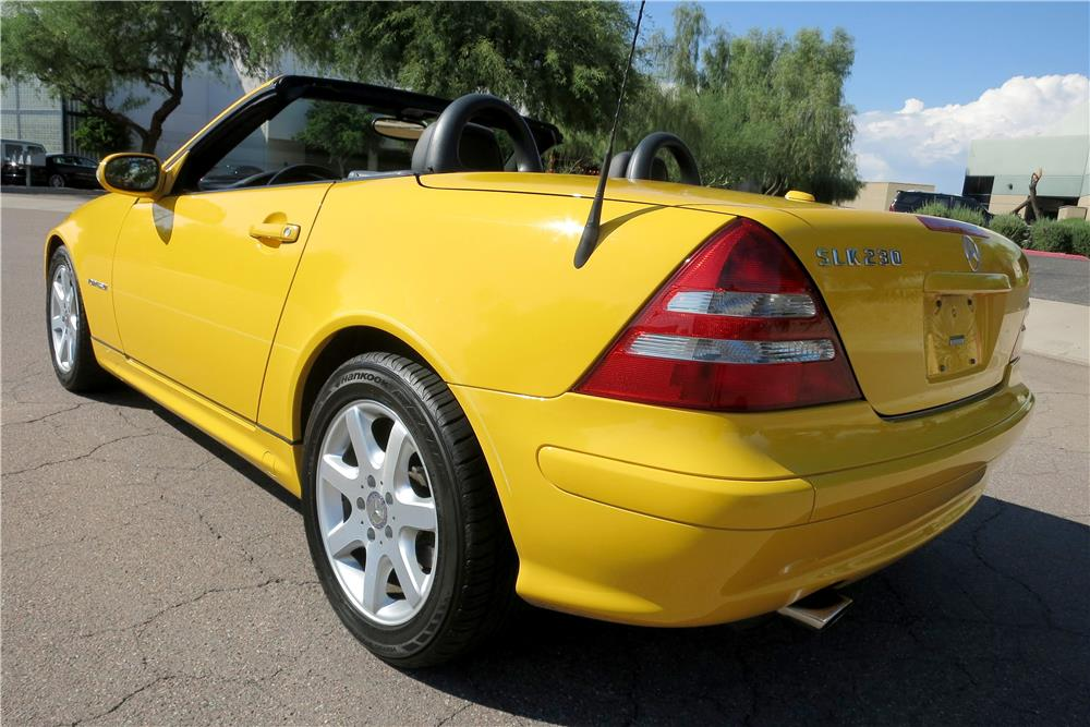 2002 mercedes benz slk230 convertible 187985 for Mercedes benz slk230 kompressor