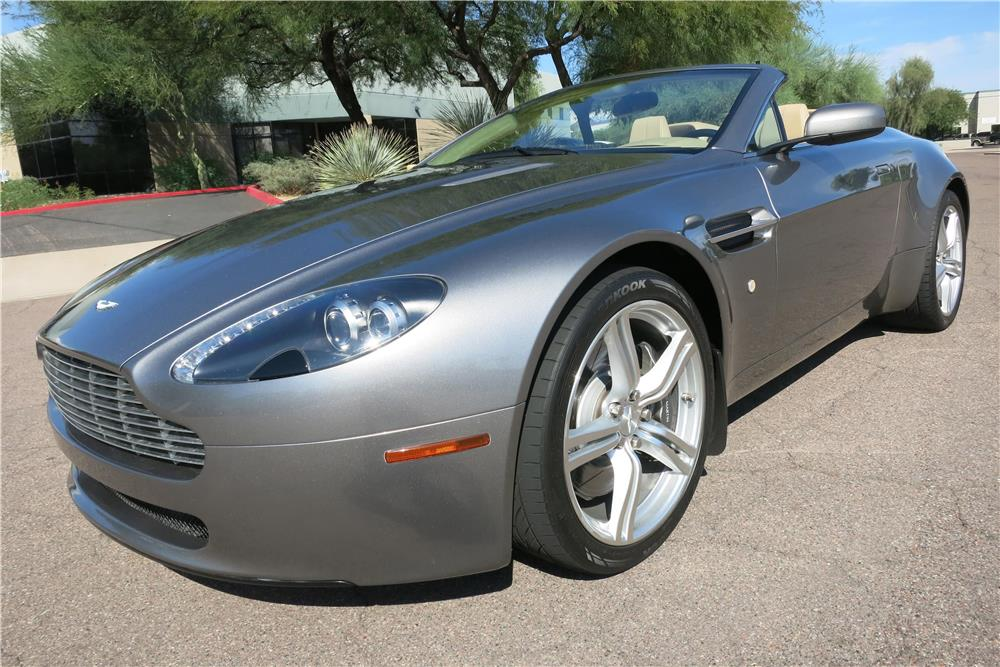 2007 aston martin vantage convertible 187996. Black Bedroom Furniture Sets. Home Design Ideas