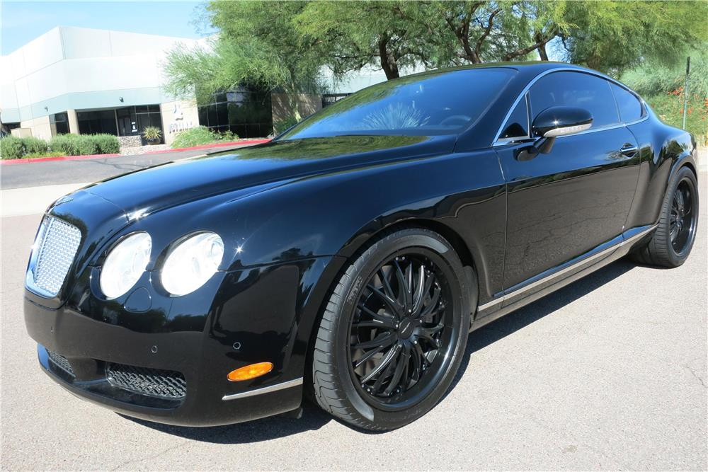 2005 BENTLEY CONTINENTAL GT  - Front 3/4 - 188001