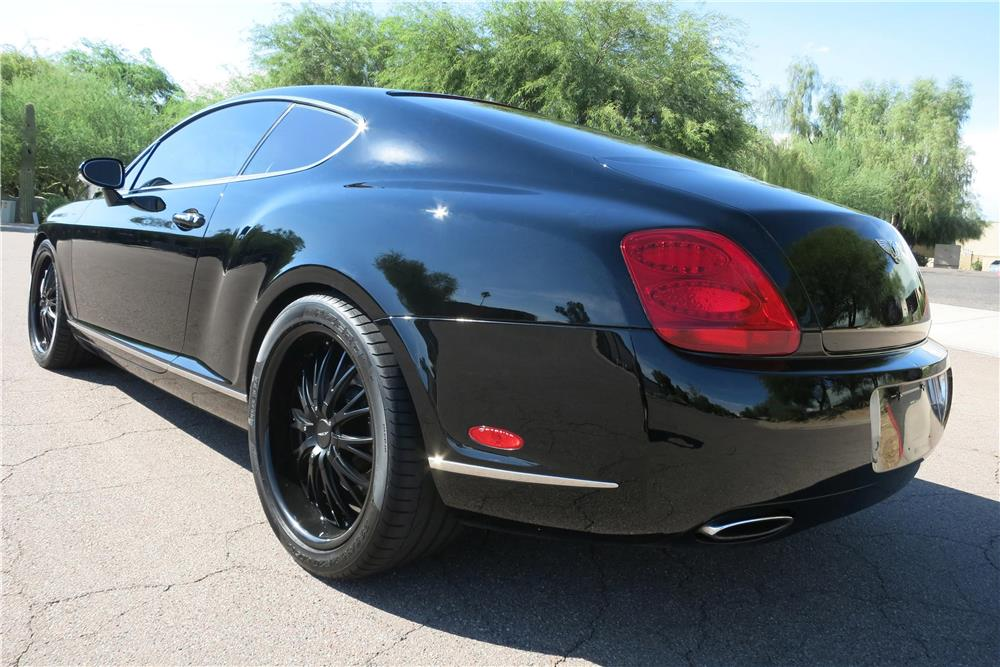 2005 bentley continental gt rear 3 4 188001. Cars Review. Best American Auto & Cars Review