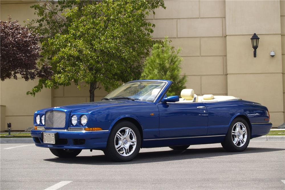 2001 BENTLEY AZURE CONVERTIBLE - Front 3/4 - 188037