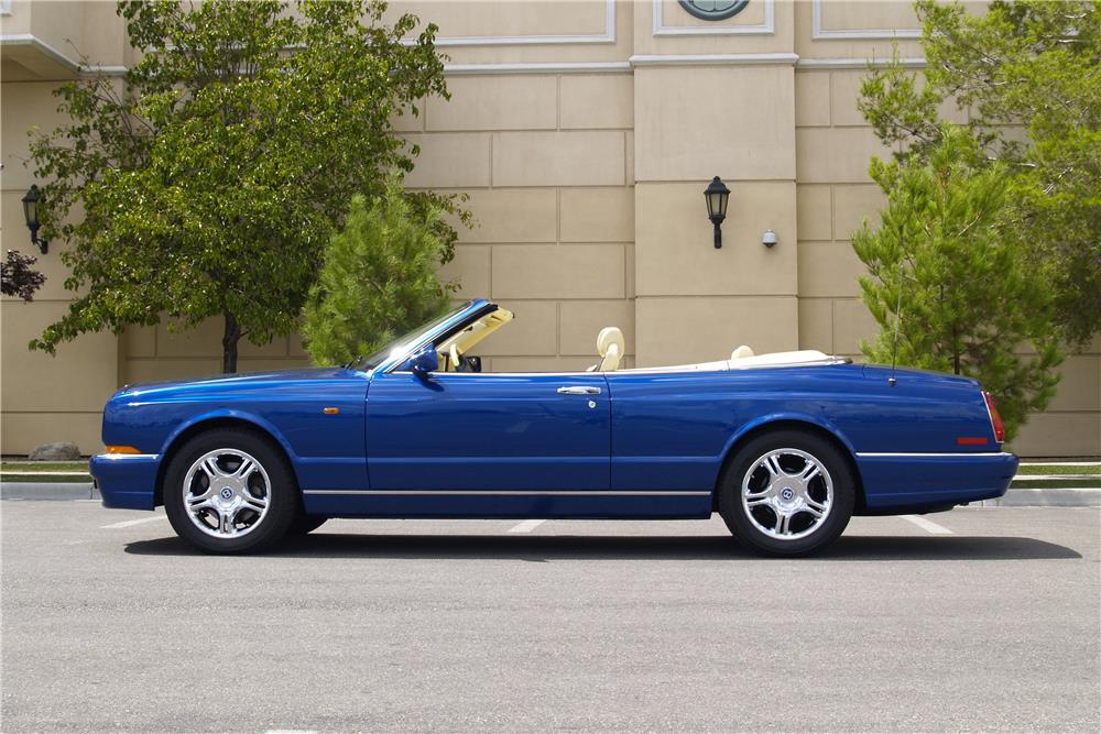 2001 BENTLEY AZURE CONVERTIBLE - Side Profile - 188037