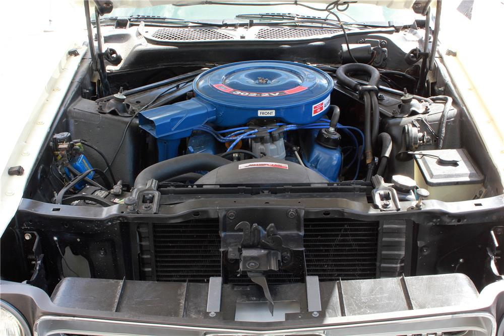 1971 FORD MUSTANG CONVERTIBLE - Engine - 188038