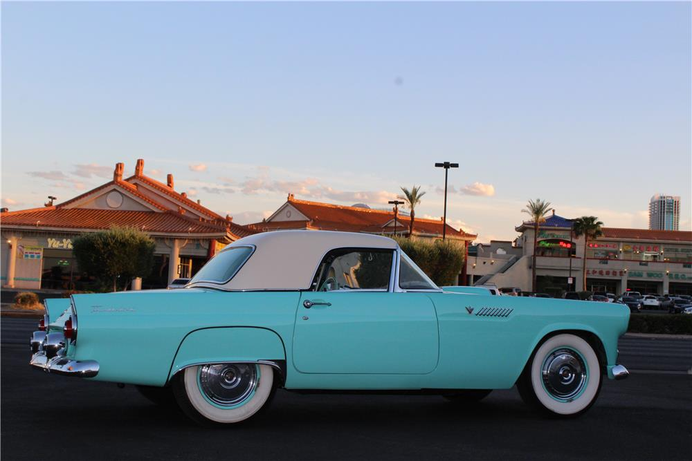1955 FORD THUNDERBIRD CONVERTIBLE - Side Profile - 188060
