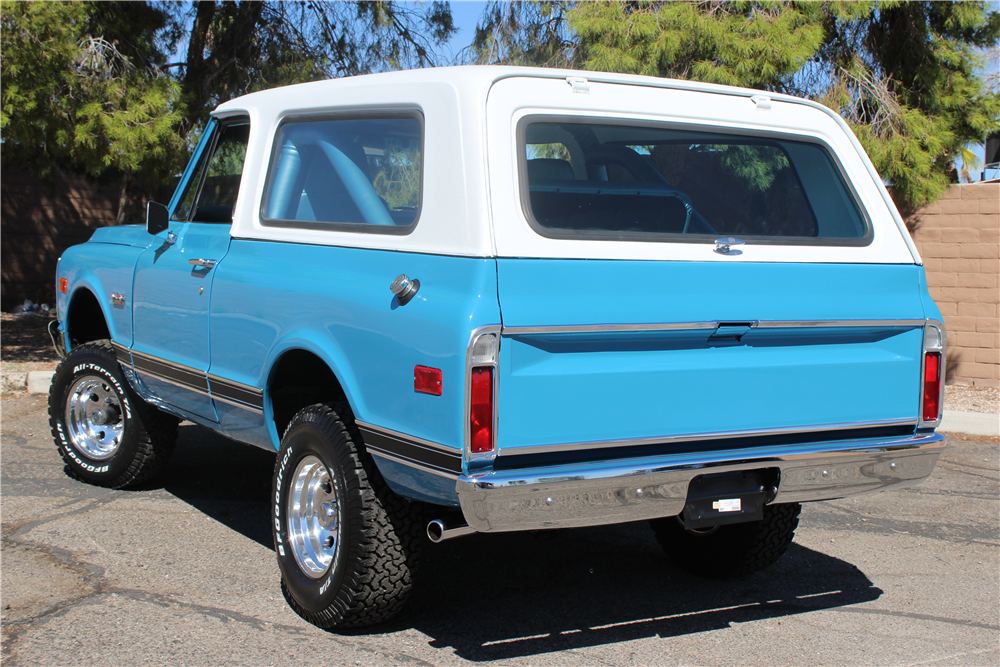 1971 GMC JIMMY  - Rear 3/4 - 188061