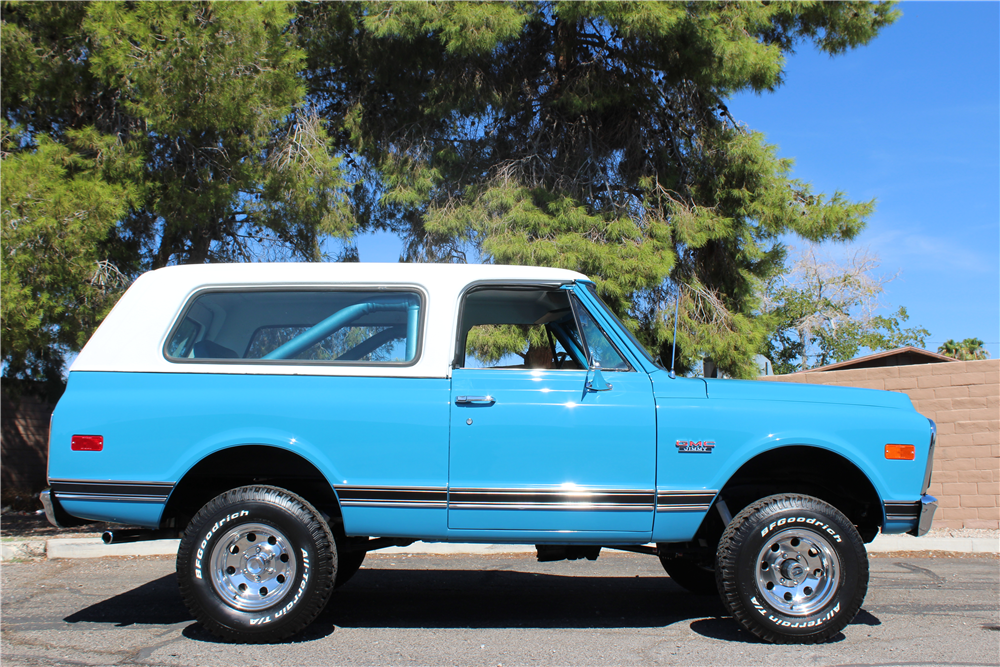 1971 GMC JIMMY  - Side Profile - 188061