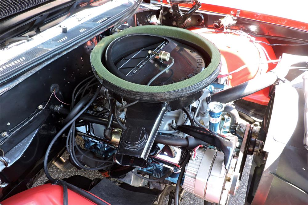 1970 OLDSMOBILE 442 W30 CONVERTIBLE RE-CREATION - Engine - 188062