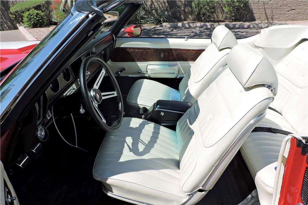 1970 OLDSMOBILE 442 W30 CONVERTIBLE RE-CREATION - Interior - 188062