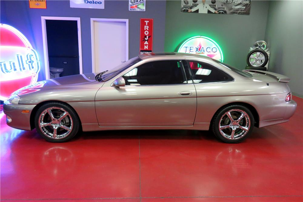 1999 LEXUS SC300 COUPE - Side Profile - 188071