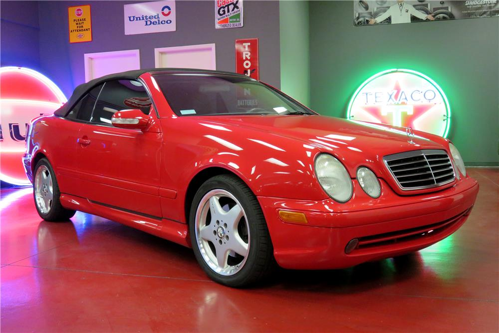 2003 MERCEDES-BENZ CLK430 CONVERTIBLE - Front 3/4 - 188078