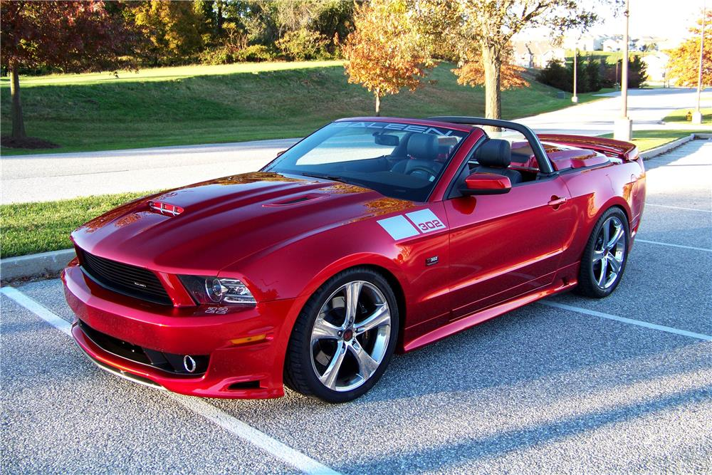 2014 ford mustang saleen convertible 188104. Black Bedroom Furniture Sets. Home Design Ideas