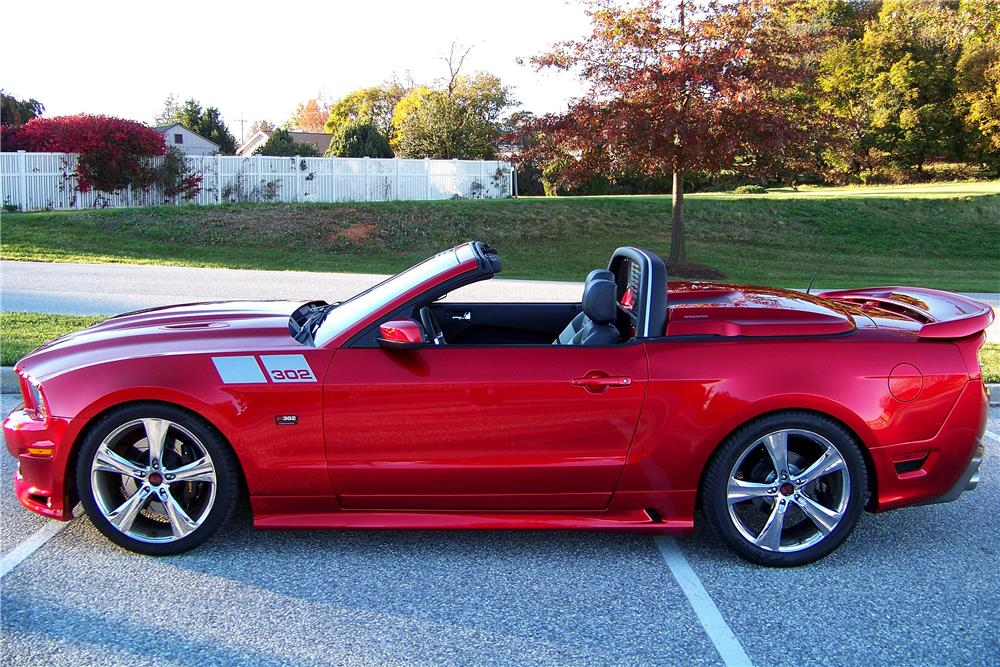 2014 FORD MUSTANG SALEEN CONVERTIBLE - Side Profile - 188104