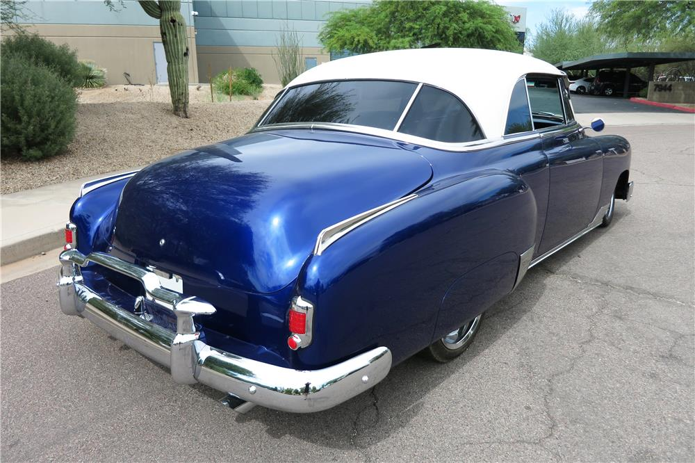 1951 CHEVROLET CUSTOM SPORT COUPE - Rear 3/4 - 188106