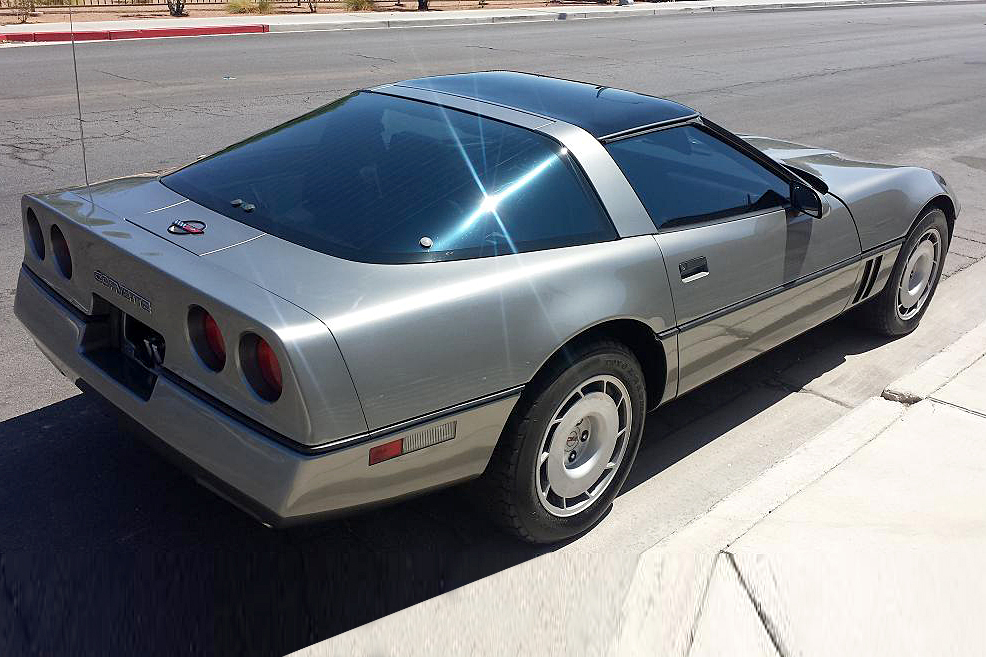 1985 CHEVROLET CORVETTE COUPE - Rear 3/4 - 188109