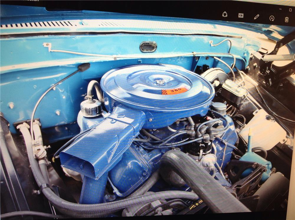 1968 MERCURY PICKUP - Engine - 188119