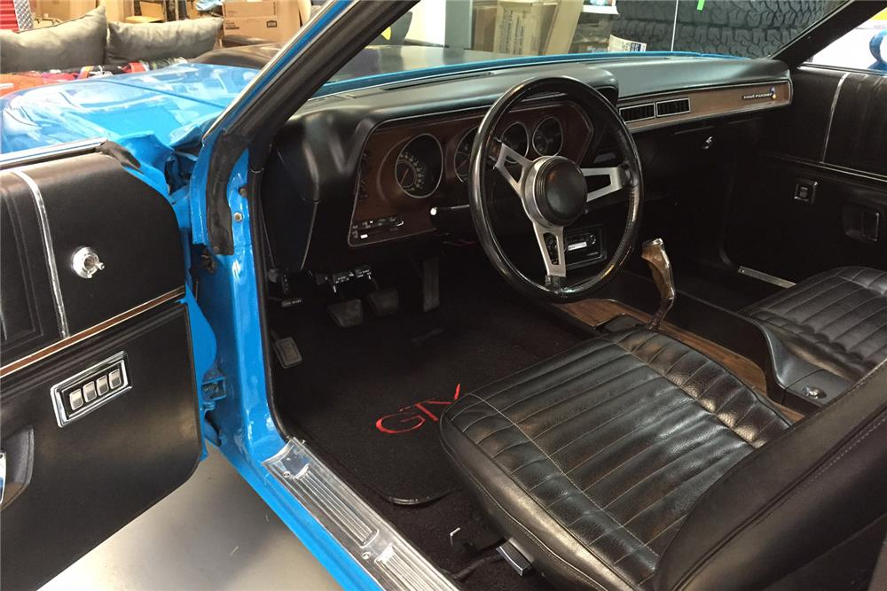 1972 PLYMOUTH ROAD RUNNER/GTX COUPE - Interior - 188126