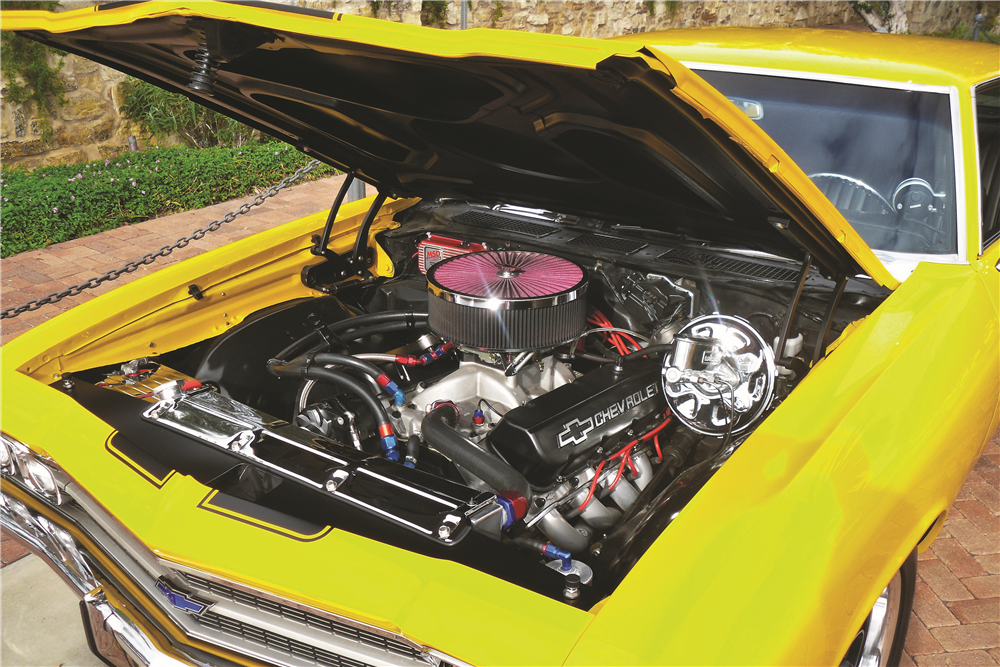 1969 CHEVROLET CHEVELLE MALIBU CUSTOM COUPE - Engine - 188138