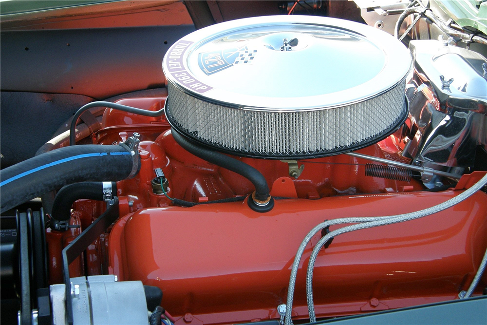 1967 CHEVROLET CORVETTE CONVERTIBLE - Engine - 188144