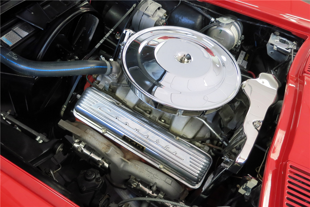 1963 CHEVROLET CORVETTE CONVERTIBLE - Engine - 188145